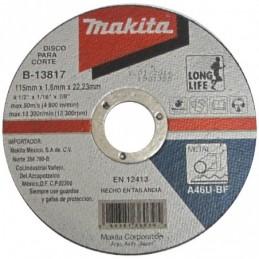 "Disco Corte Metal 4 1/2""..."
